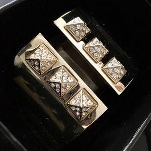 New Victoria's Secret gold cuff , in box